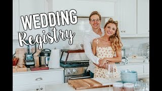 The Most Relatable Wedding Registry Haul!