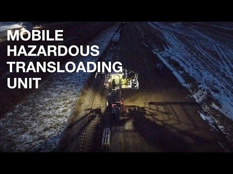 Mobile Hazardous Transloading Unit Spotlight