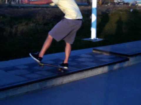 Matthew at Rexburg Skate Park