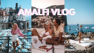 Spending the greatest week on the Amalfi Coast & Capri! Luxury hotels, beach clubs and boat tours!