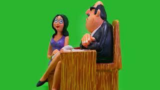 Miss Fonseca & The Boss - Figurine