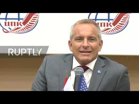 Russia: ISS Expedition 59 crew review space mission