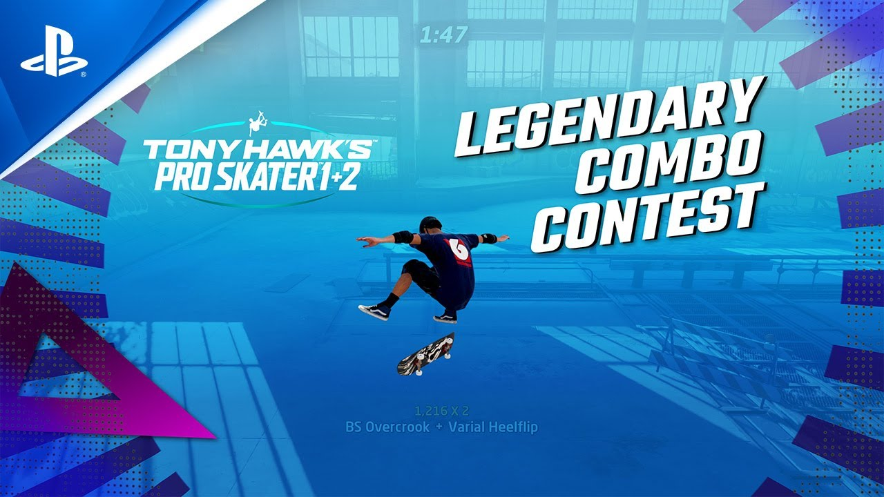 Become Legendary – Announcing the Tony Hawk's Pro Skater 1 + 2 Legendary Combo Contest