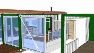 Сверхэкономичный дом-контейнер