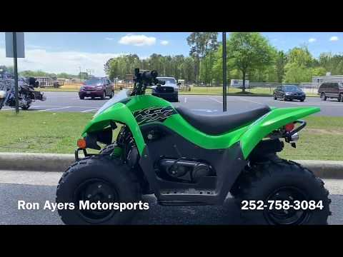 2019 Kawasaki KFX 90 in Greenville, North Carolina - Video 1