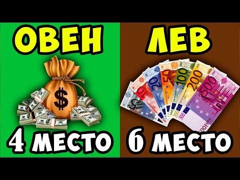 Рейтинг Самых Богатых Знаков Зодиака, которые Умеют Зарабатывать Деньги