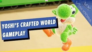 Yoshi's Crafted World - 10 minutos de gameplay