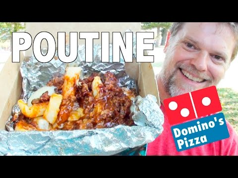 NEW DOMINO'S POUTINE Food Review – Fast Food Friday – Greg's Kitchen