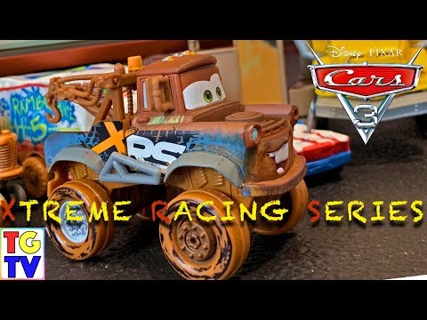 Disney Pixar Cars 3 XRS (Xtreme Racing Series) Tow Mater