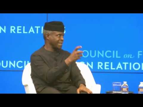 VP Osinbajo Promote NIG's Organic Tech Solutions -By Joy Osiagwu