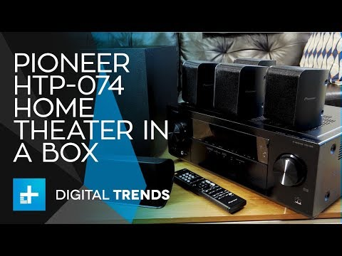 Pioneer HTP-074 Home Theater In A Box – Hands On Review
