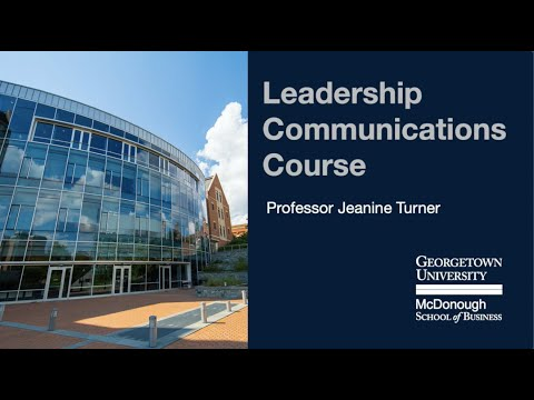 EML Leadership Communications Course - YouTube