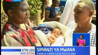 Pacha mmoja aibiwa katika hospitali ya Kenyatta