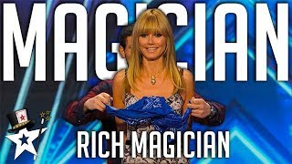 The Rich Magician Removes Heidi Klum