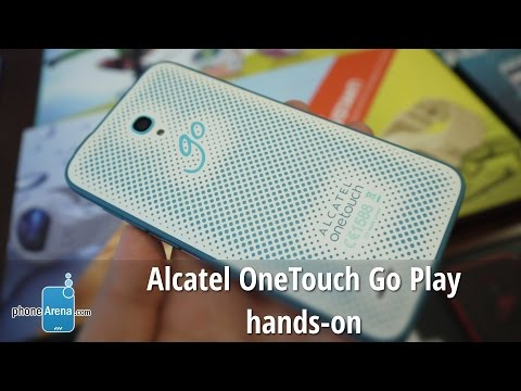 Alcatel OneTouch Go Play hands-on