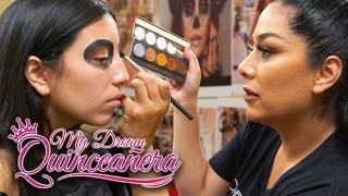 Day of the Dead Makeup   My Dream Quinceañera - Reunión Ep 6