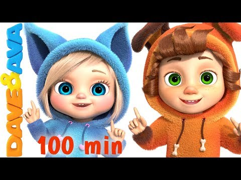 One Little Finger | Cartoon Animation Nursery Rhymes & Songs For Children | Dave And Ava Mp3