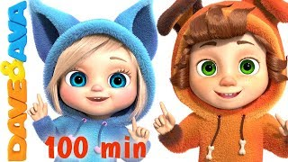 One Little Finger | Cartoon Animation Nursery Rhymes & Songs for Children | Dave and Ava