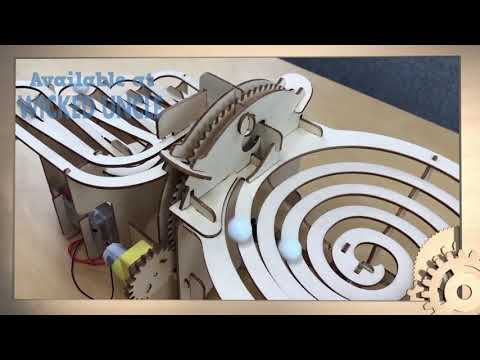 Youtube Video for Engenius Contraptions - Perpetual Marble Run