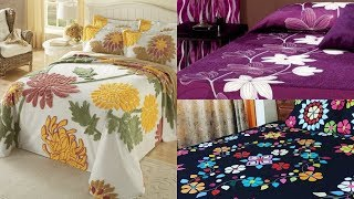 Top Stylish Hand Made Applique Work Designer Bed Sheets Design Ideas