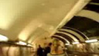 preview picture of video 'London: Oxford Circus tube station ( incl. Czech and English text )'