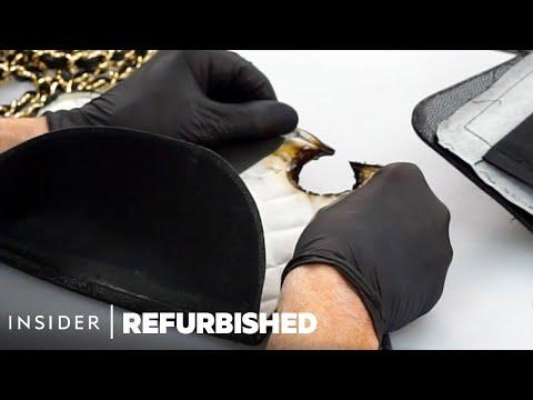 Fixing a $3,000 Burnt Chanel Bag