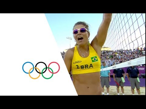 Preview video Beach Volleyball Women´s Bronze Medal - Brazil v China - London 2012 Olympic Games Highlights