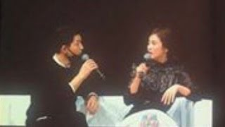Song Joong Ki & Song Hye Kyo [ENG SUB] Singing