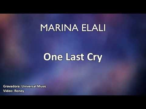 Marina Elali - One Last Cry (Karaoke)