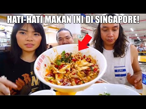 LIDAH KITA MATI RASA! Ft. Nex Carlos dan Gerry Girianza (Singapore Food Vlog + Google Cook Off)