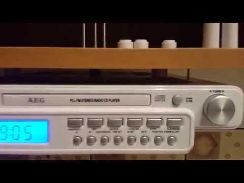 Radio - AEG KRC 4355CD