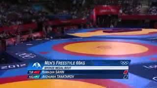 Акжурек Танатаров Олимпиада 66кг бронза