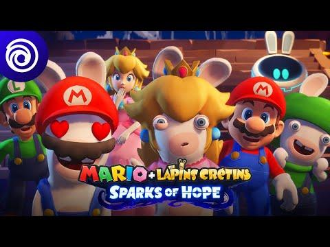 Aperçu de gameplay  de Mario + The Lapins Crétins: Sparks of Hope