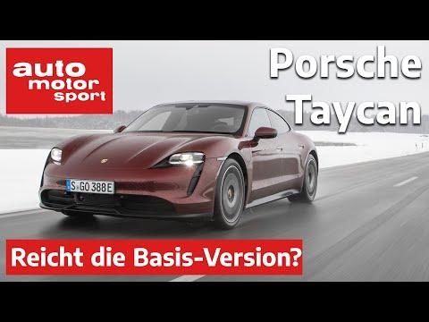 Porsche Taycan (2021) Reicht die Basis, oder muss es Turbo sein? | auto motor & sport