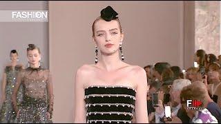 GIORGIO ARMANI PRIVÉ Haute Couture Fall 2019 Paris - Fashion Channel