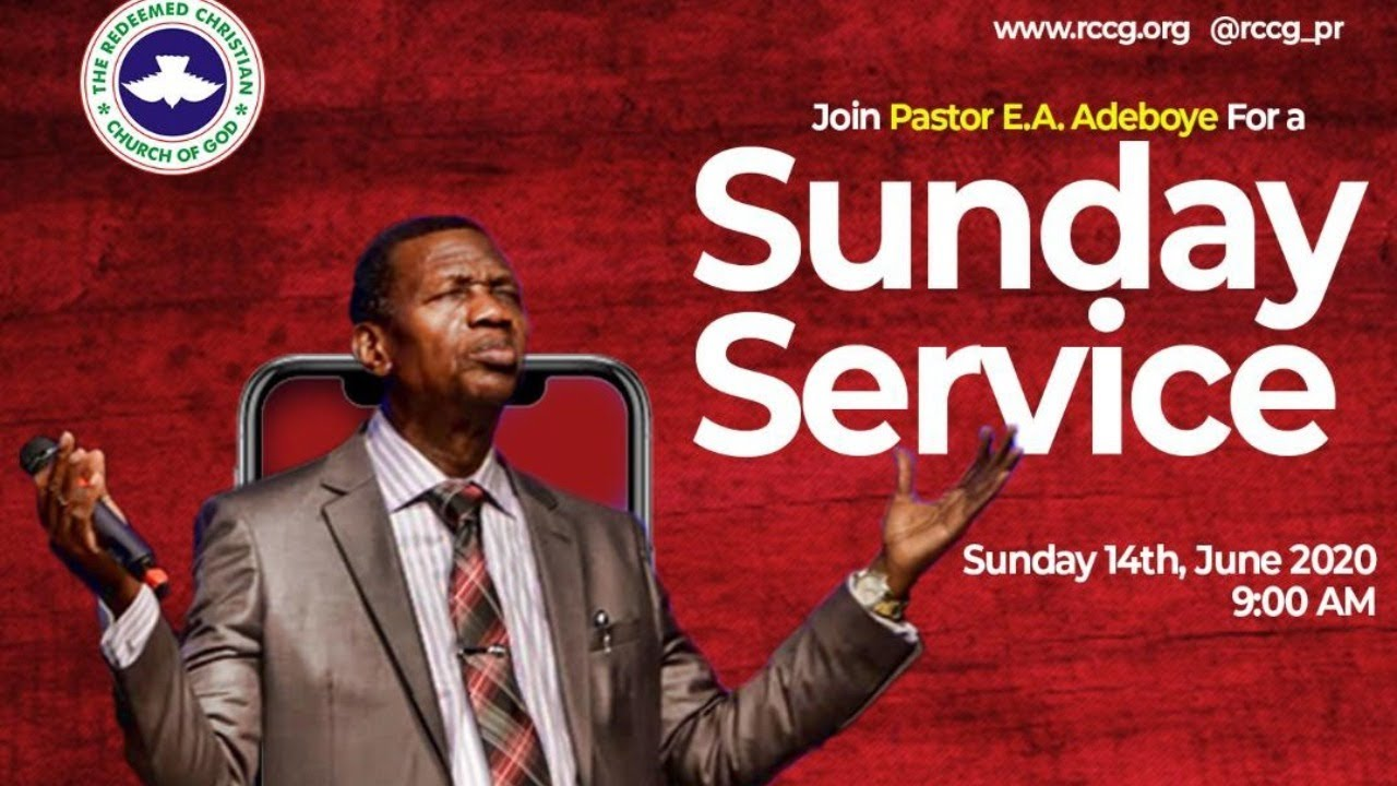 RCCG 14th June 2020 Live Service with Pastor E.A Adeboye