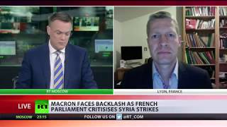 Macron under fire from French Parliament over Syria strikes - Video Youtube