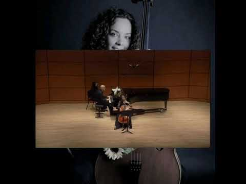 F. Mendelssohn - Cello Sonata No. 2 in D major Op. 58 (excerpt)  INSTAGRAM @adrianaestrelacello