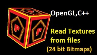 Read bitmap(.bmp) files (created in software like paint ) and use them  as 2D textures in OpenGL !!! functions explained - fopen()fread()fseek()typedefs-BITMAPINFOHEADER BITMAPFILEHEADER