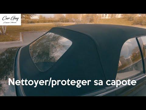 Comment NETTOYER et PROTEGER la capote d'un cabriolet