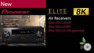 Pioneer Elite 2021 8K AV Receivers