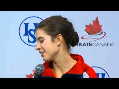 2010 Skate Canada Interview with Alissa Czisny