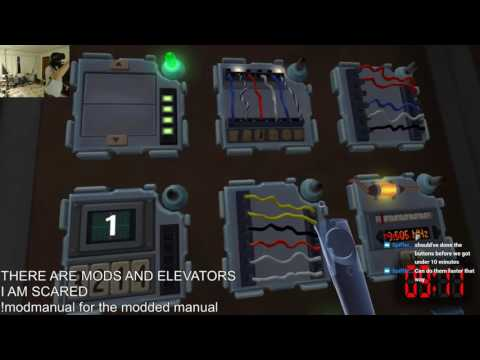 The most intense and fast paced game of Keep Talking and Nobody Explodes I've ever seen with 54 modules in 20 minutes