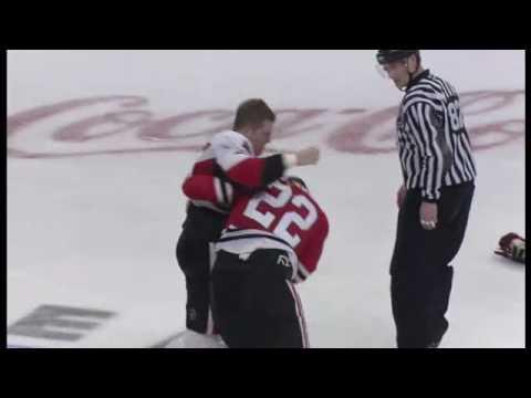 Troy Brouwer vs. Chris Neil
