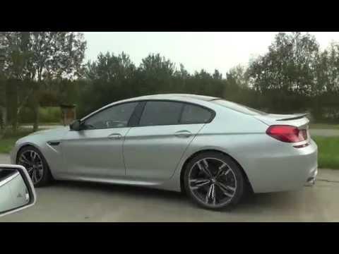 Uncut: BMW M6 Gran Coupe vs Mercedes E63 V8 BiTurbo Performance Package both stock