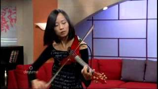 "Victoria Yeh of Violet Fusion performs Electric Violin - ""I Remember"""