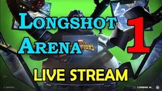 Longshot Arena - Round 2 - Part 1 | Marvel Contest of Champions Live Stream