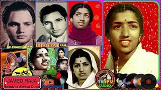 LATA JI-Film-PYAR KI MANZIL~{1950}~Bichde Hue Sajan Ki