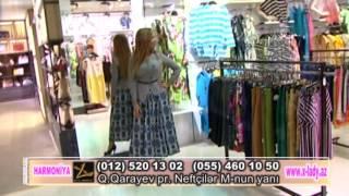Xezer TV Harmoniya verilisinden XLadyde Leyla Ramazanlı 10.09.2016