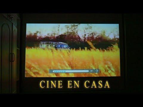 CINE EN CASA - Review de Proyector 3D